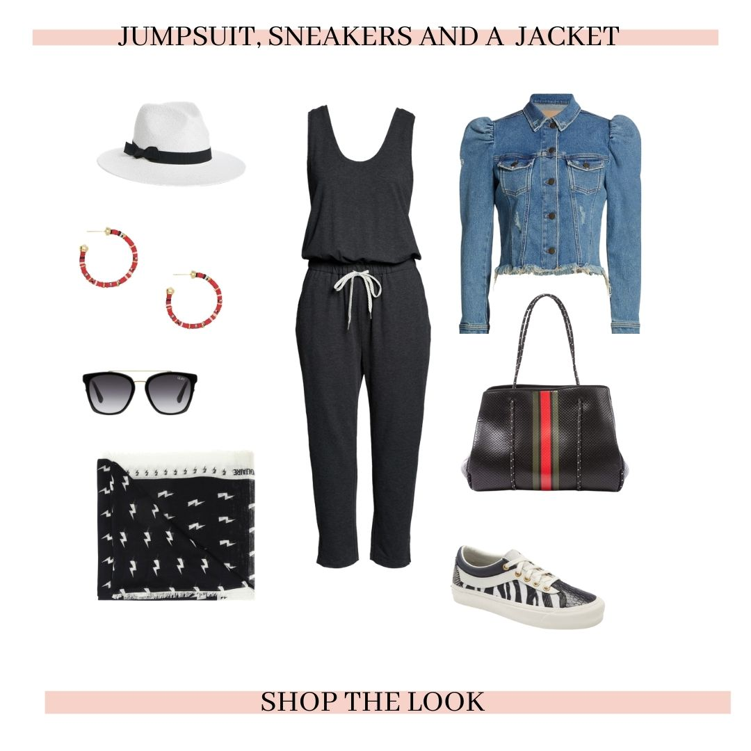 comfy travel style, stay fit